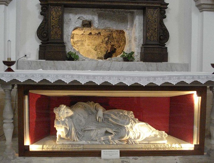 Santa Lucia siracusana: prima tomba di Santa Lucia