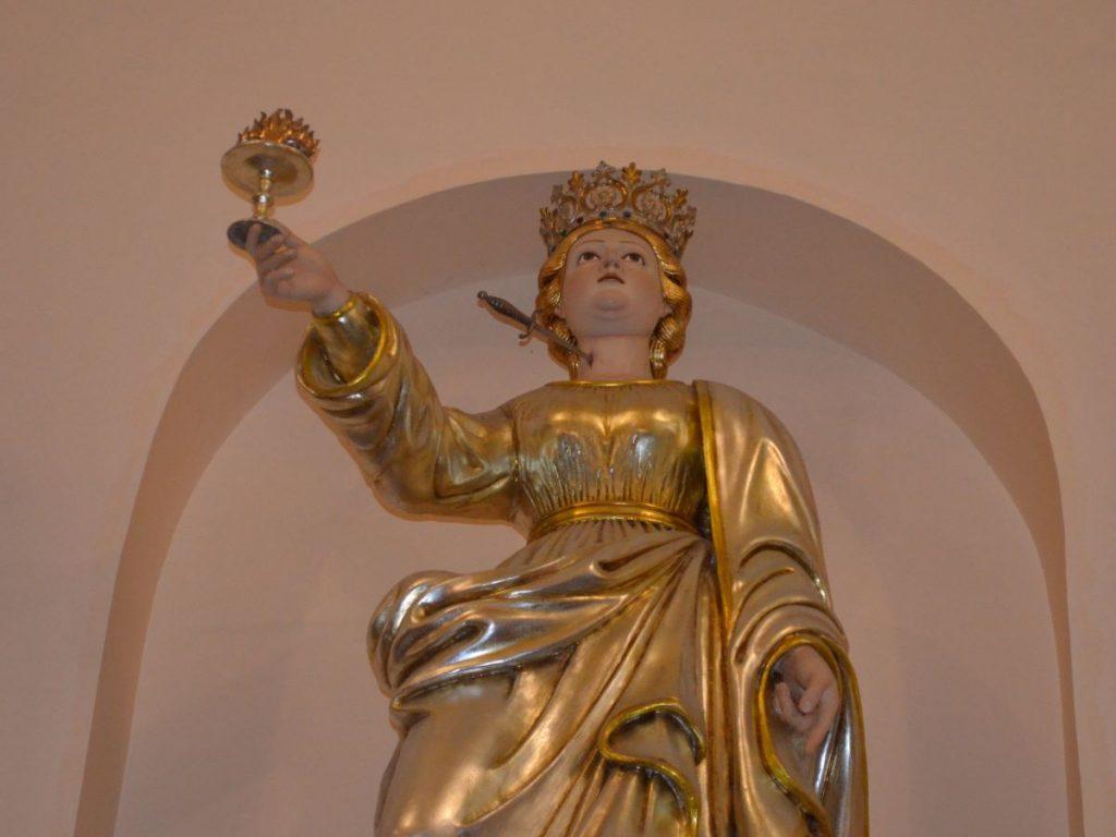 Santa Lucia siracusana: statua di santa Lucia presso Chiesa di Sant'Antonio a Palazzolo Acreide