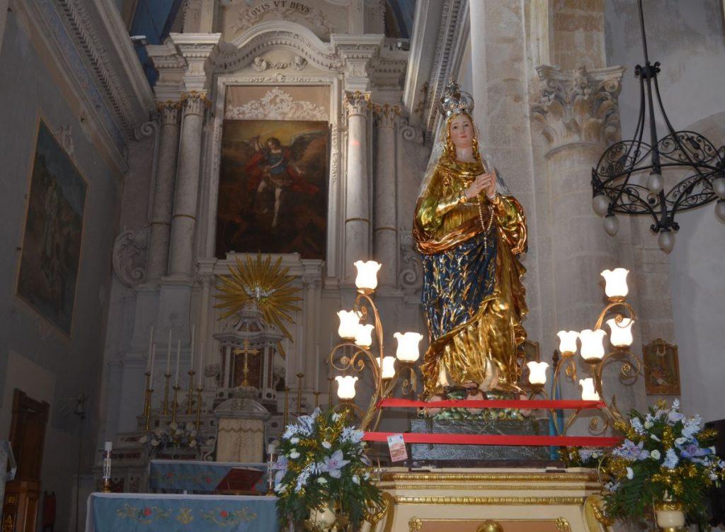 La Festa Dell'immacolata: festeggiata quest'anno presso la chiesa di San Michele