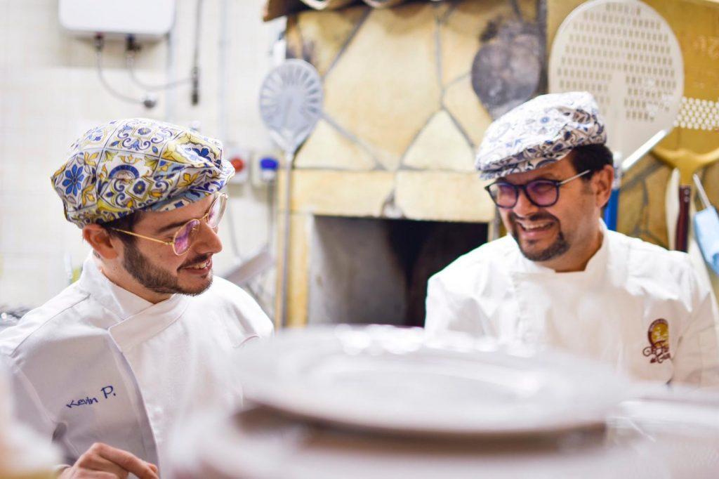 Giornata mondiale della pizza Kevin e Tancredi