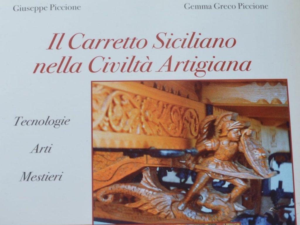 Il carretto siciliano: libro di Giuseppe Piccione e Gemma Greco