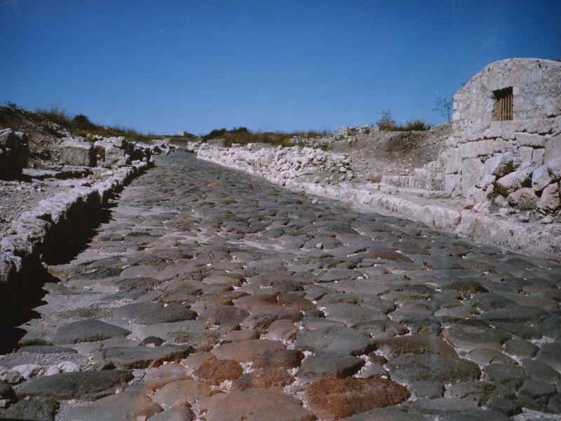 Una casa romana: Strada Romana vicino ai nuovi scavi