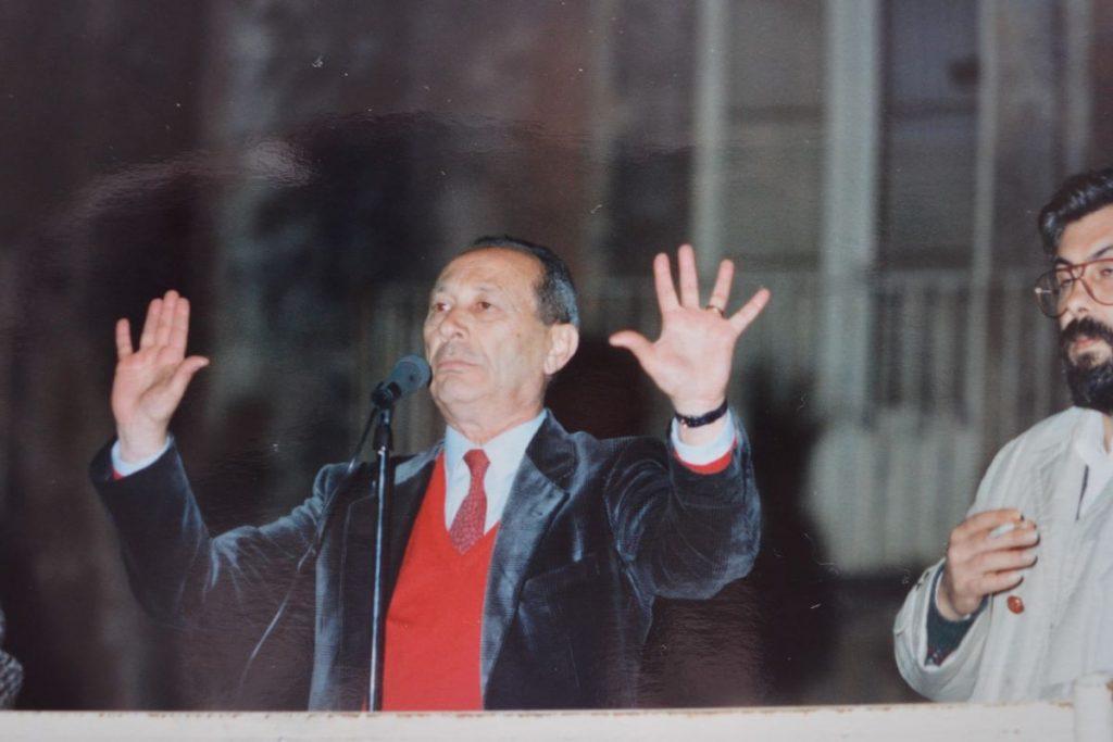 Paolo Greco: votazioni comunali e provinciali 1990(Raccolta Santoro-foto Ugo Santoro