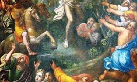 Dipinto Martirio Di San Sebastiano