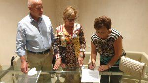 Acquaviva Firma donazione i beni del museo di Buscemi