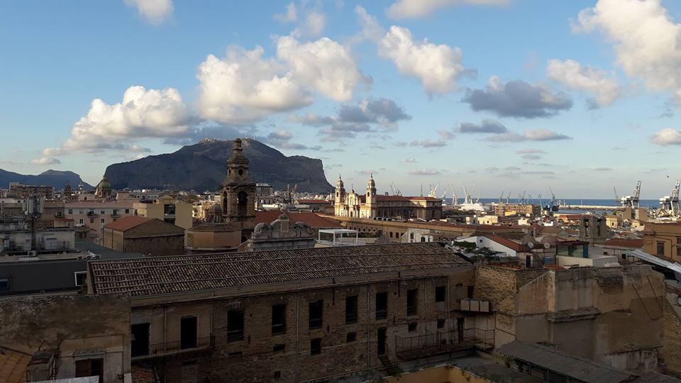 Veduta dai tetti di Santa Caterina