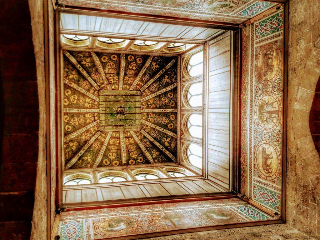 Rex Siciliae: sala dei venti nella Torre Joharia