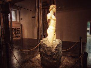 Kouros ritrovato a Palazzo Branciforte di Palermo