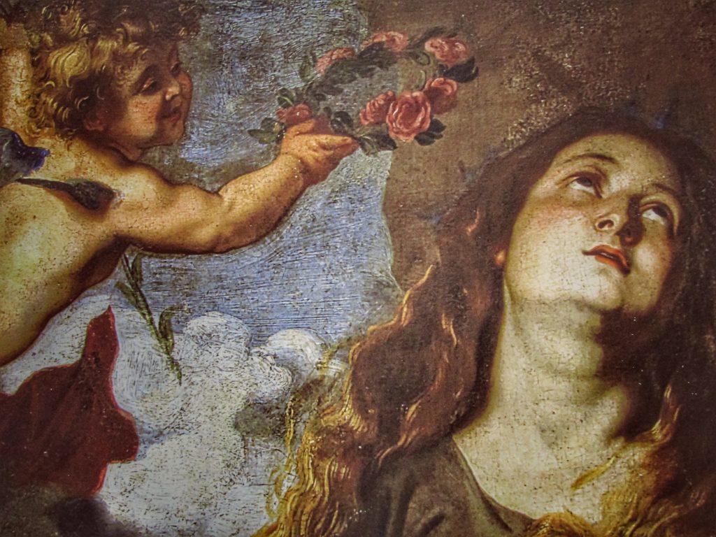 Rosalia patrona: incoronata dagli angeli - Antoon Van Dyck