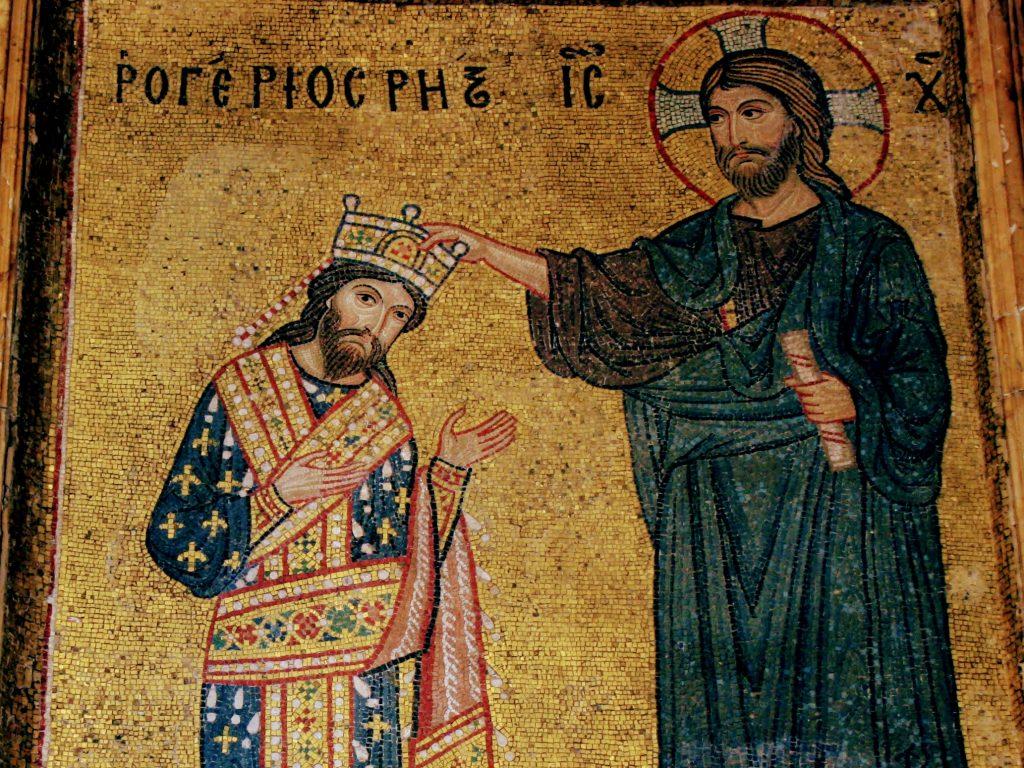 Rex Siciliae: Cristo incorona Ruggero re di Sicilia