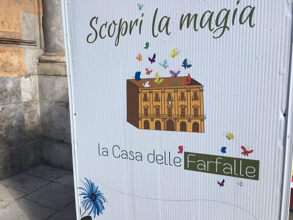 Manifesto Casa delle Farfalle
