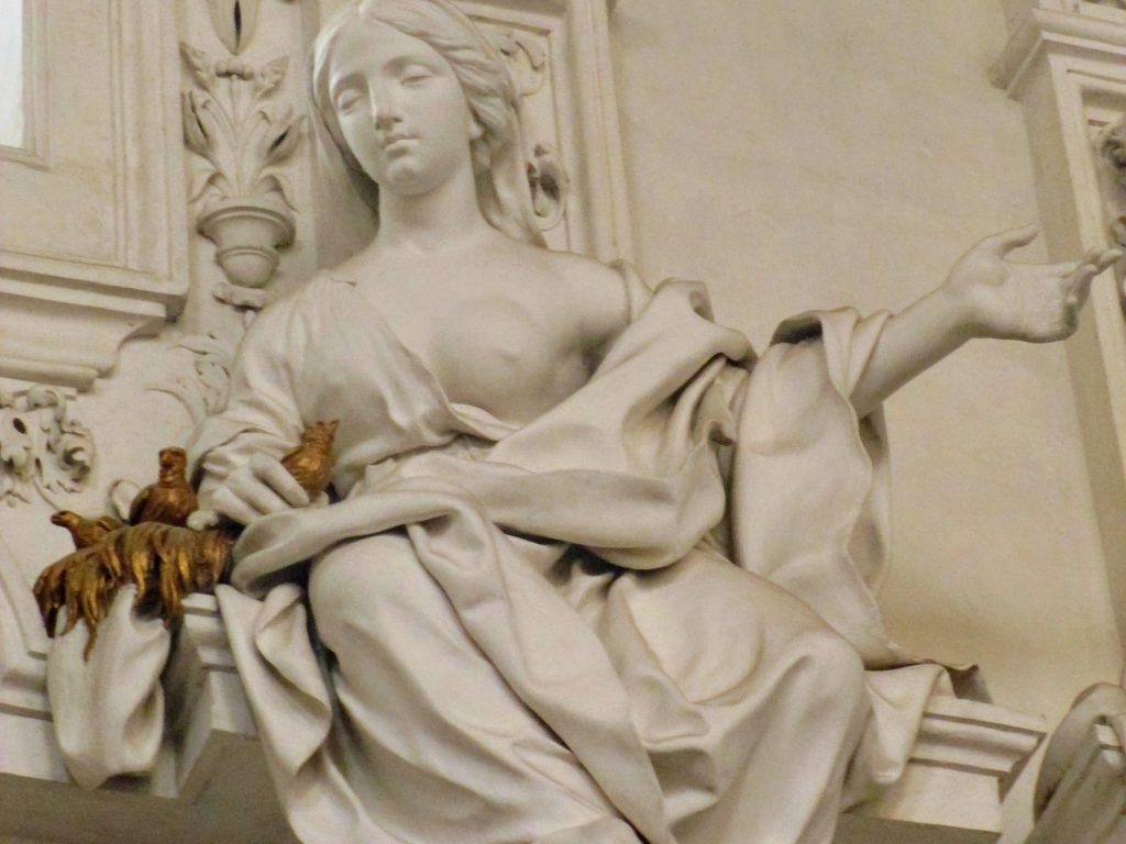 Bianco Serpotta: la sensuale carnalità umana del Sacro