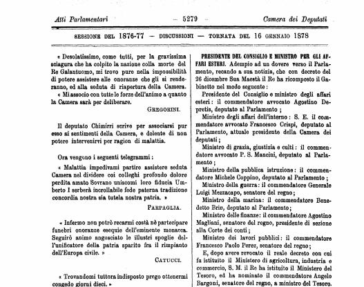 tredicesima legislatura d'italia