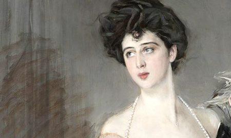 Ritratto Di Donna Franca Florio, Dettaglio