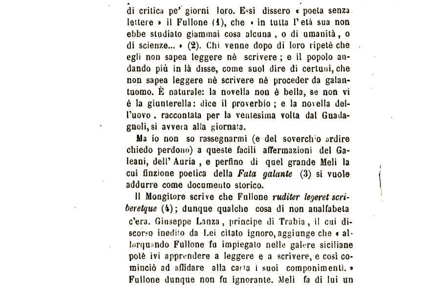 Giuseppe Pitrè parla Di Pietro Fullone