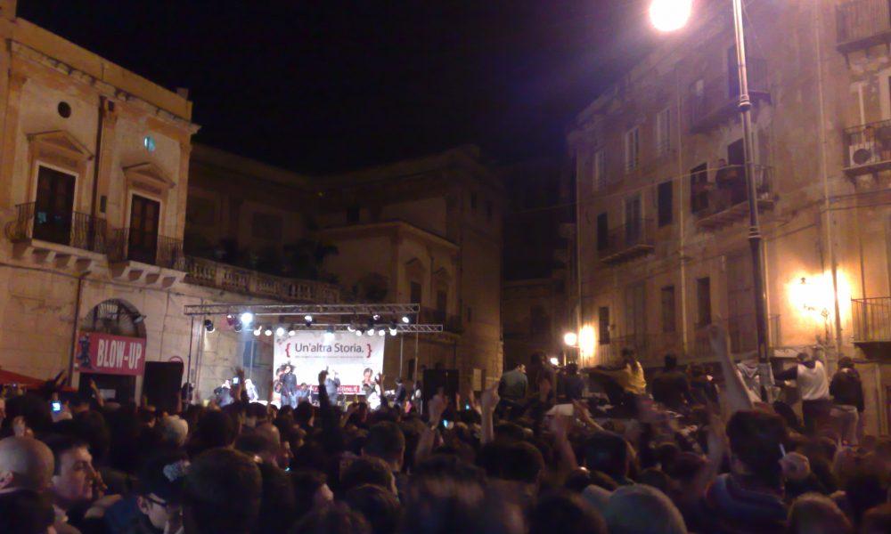 Piazza Sant'anna, Concerto Roy Paci