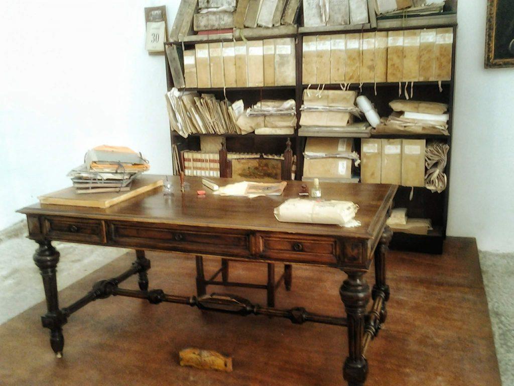 I tesori di Pitrè: scrivania originale dello studioso