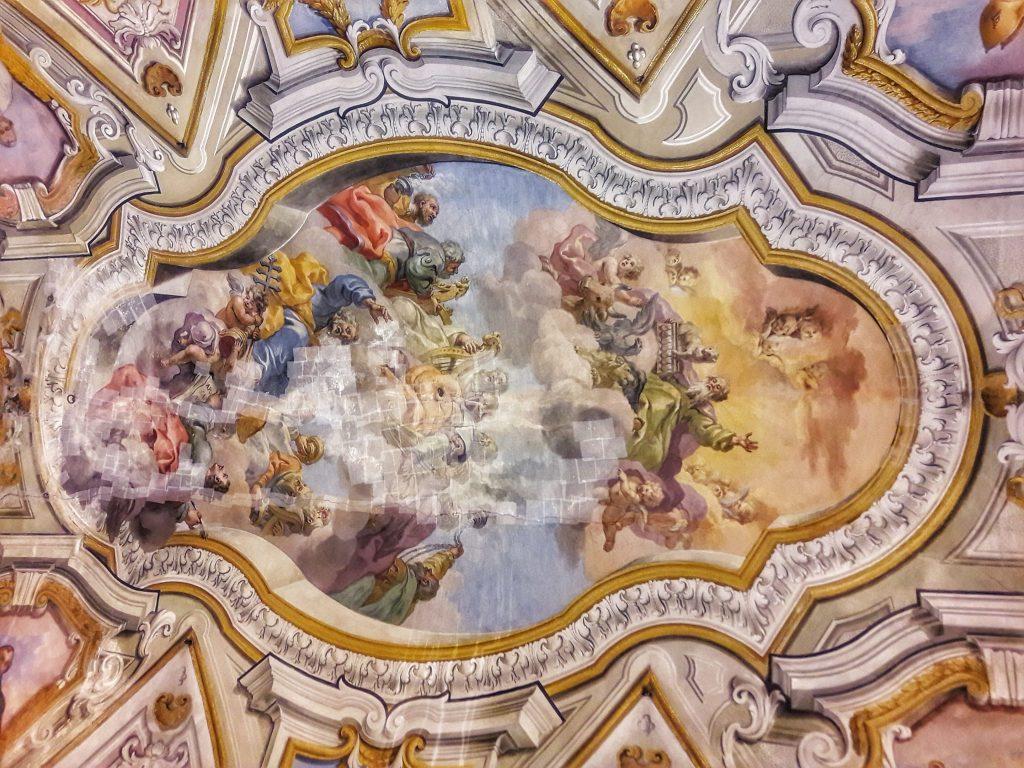 Fiammingo siciliano: Gloria di San Pietro presso Oratorio della Carità di San Pietro