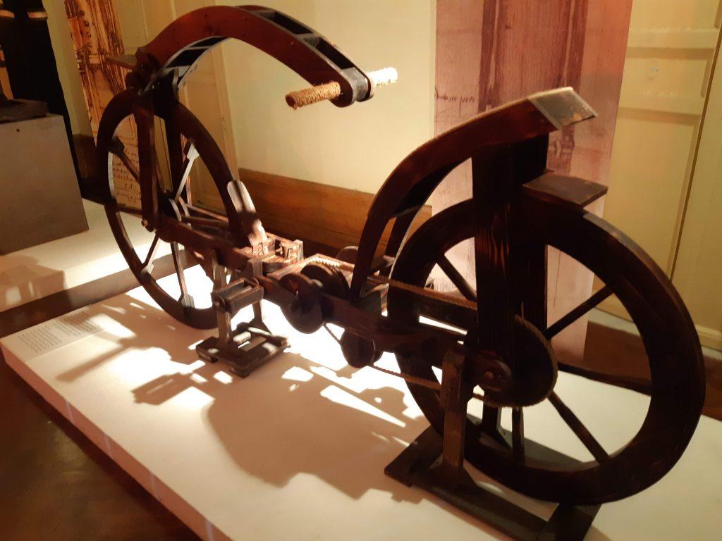 Genio Da Vinci: prototipo di bicicletta