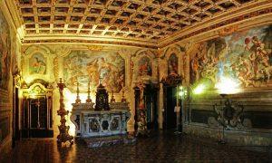 Fiammingo siciliano: panoramica sugli affreschi dentro la cappella del palazzo arcivescovile
