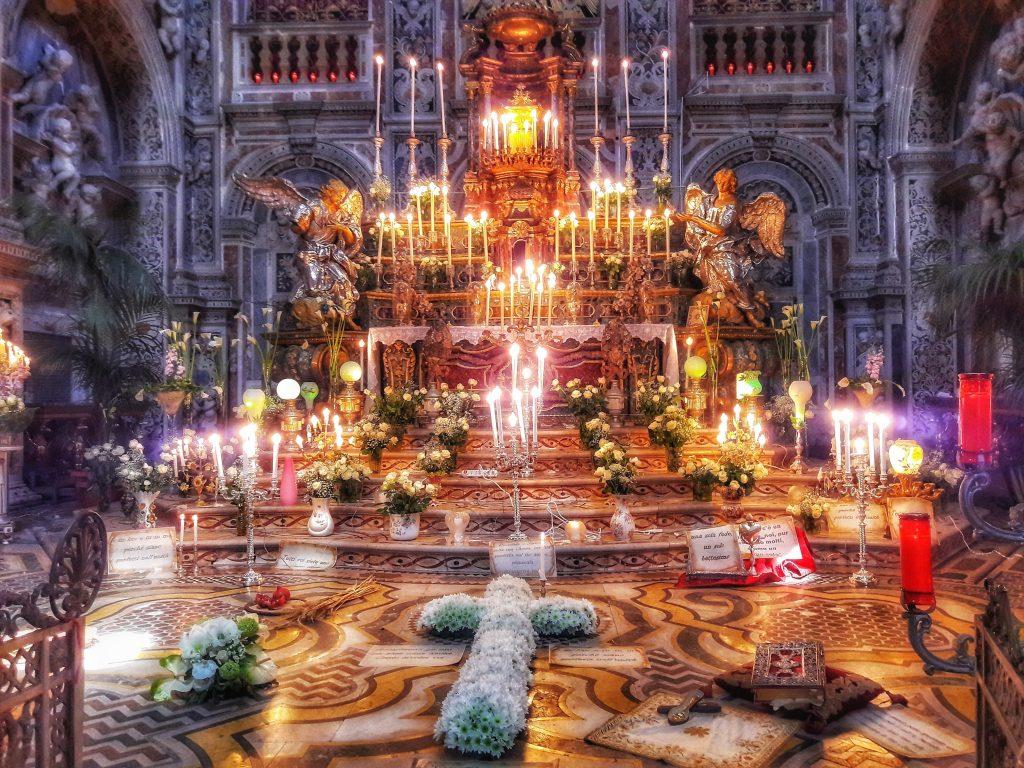 Teatralità della Pasqua: Sepolcri a Santa Caterina nel 2017