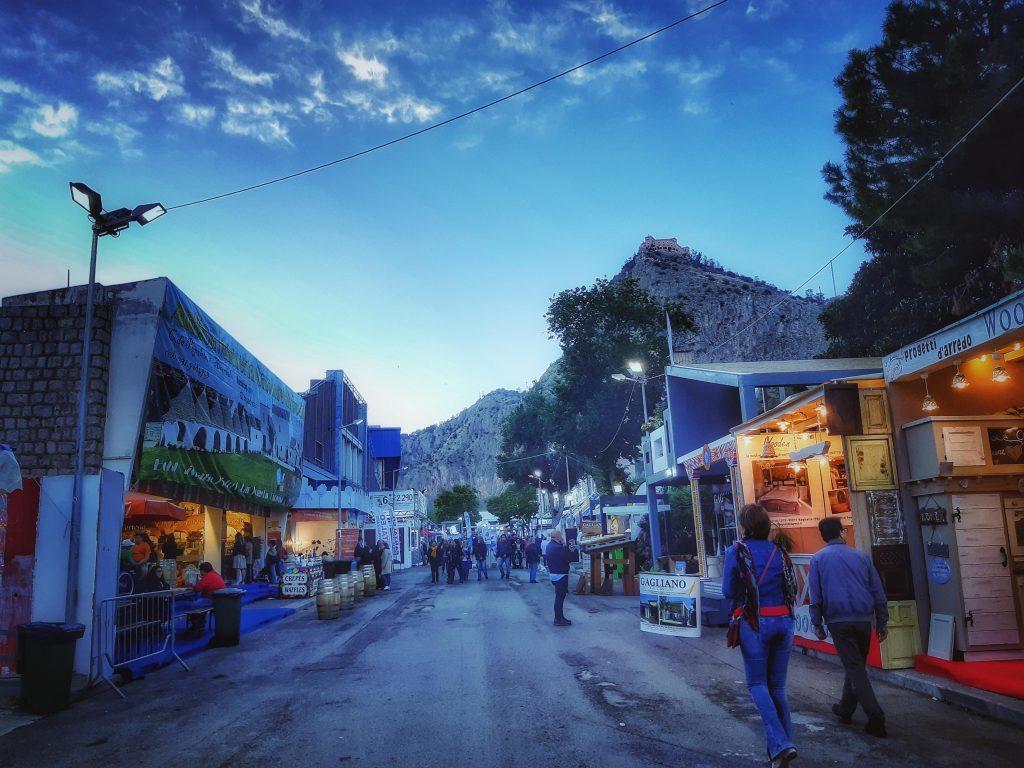 Fiera del Mediterraneo: Monte Pellegrino veglia sulla Campionaria
