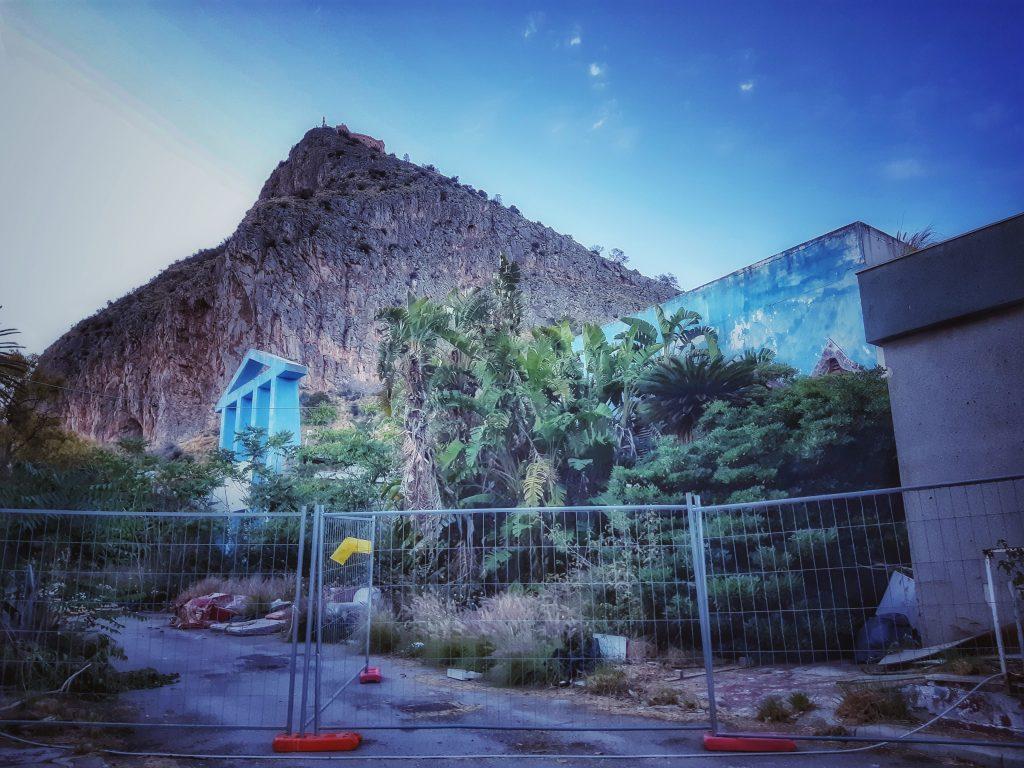 Fiera del Mediterraneo: padiglioni in abbandono