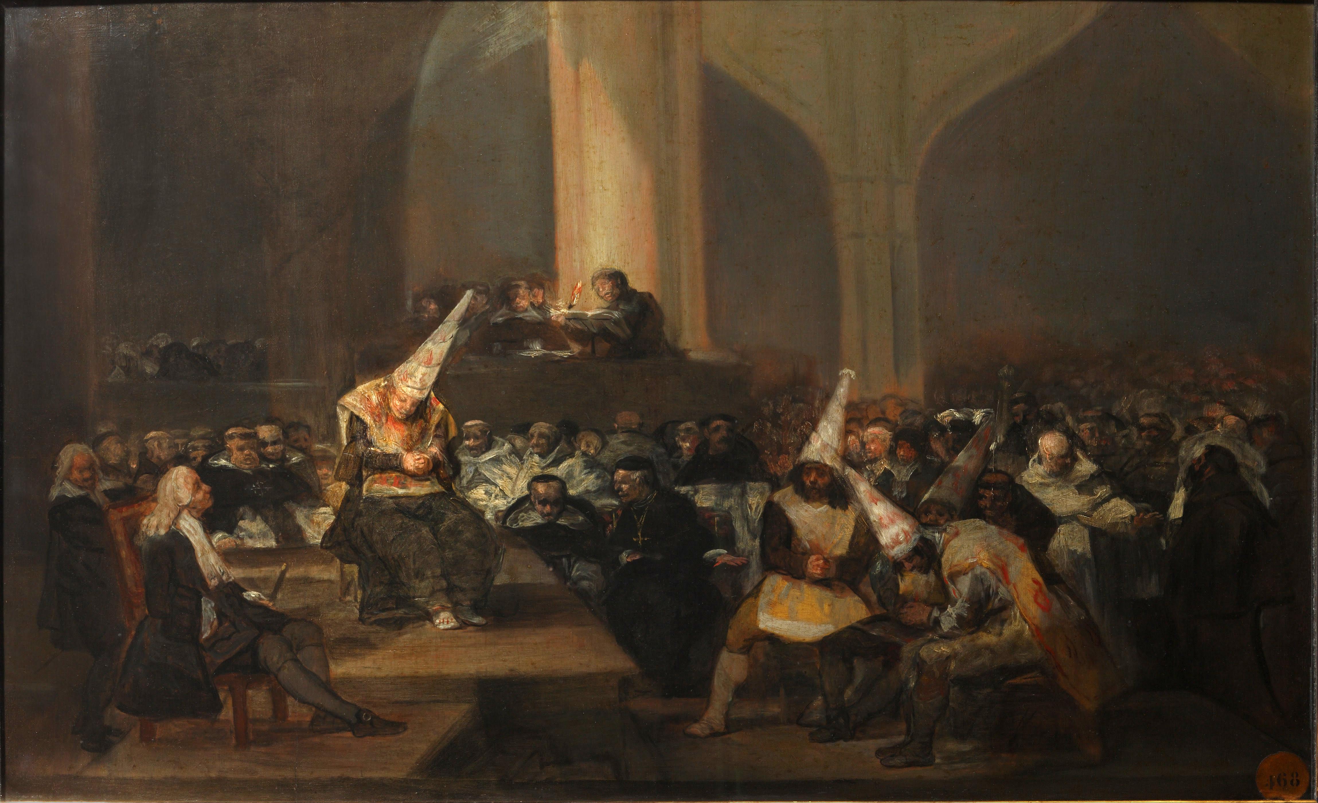 Il tribunale dell'Inquisizione di Francisco Goya