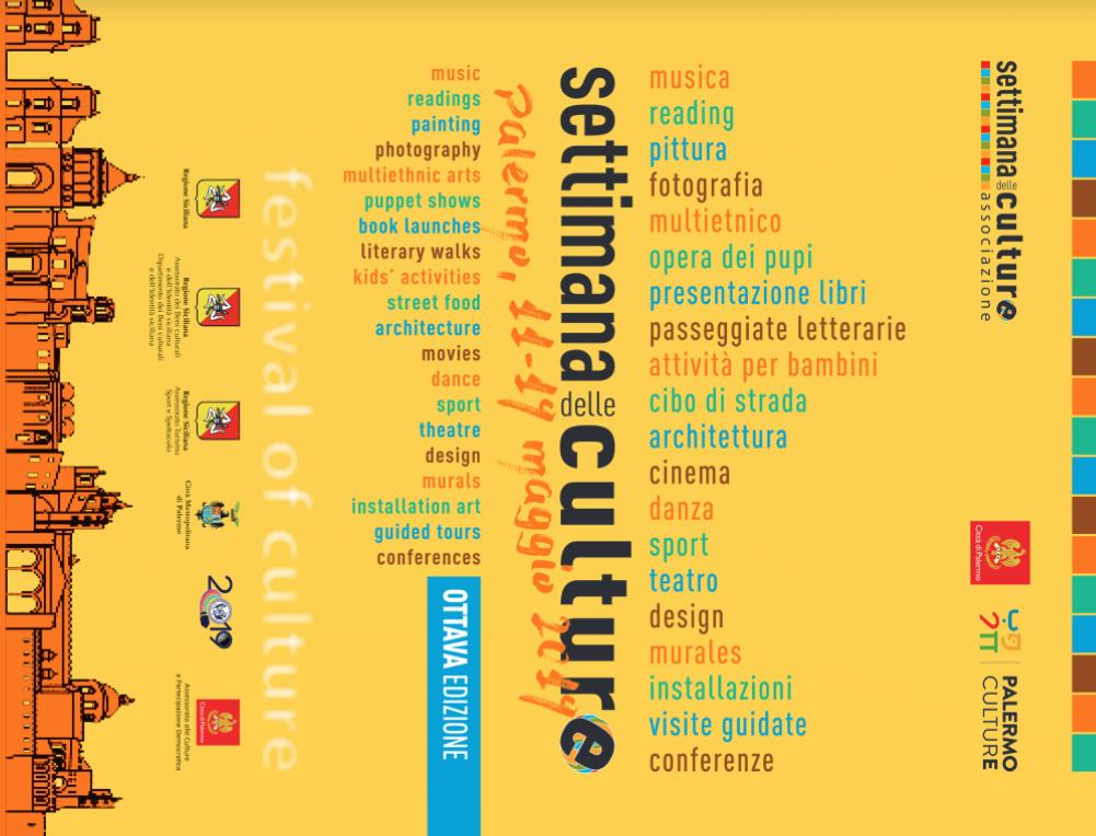 Settimana delle culture: Locandina ufficiale della VIII edizione