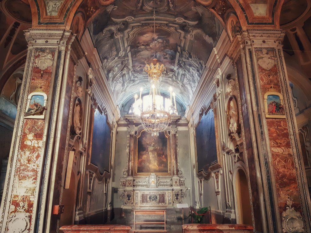 Oliva da Palermo: la cappella in San Francesco di Paola