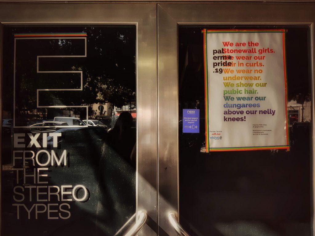 Pride: edizione del palermopride 2019 in omaggio a Stonewall