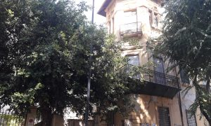 Villino abbandonato zona Notarbartolo