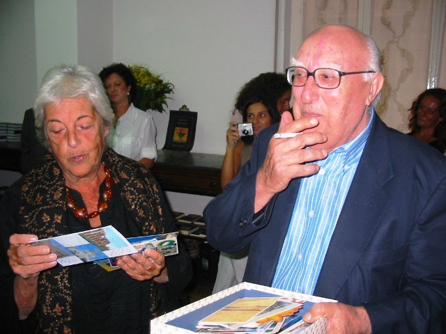 Andrea Camilleri e Elvira Sellerio