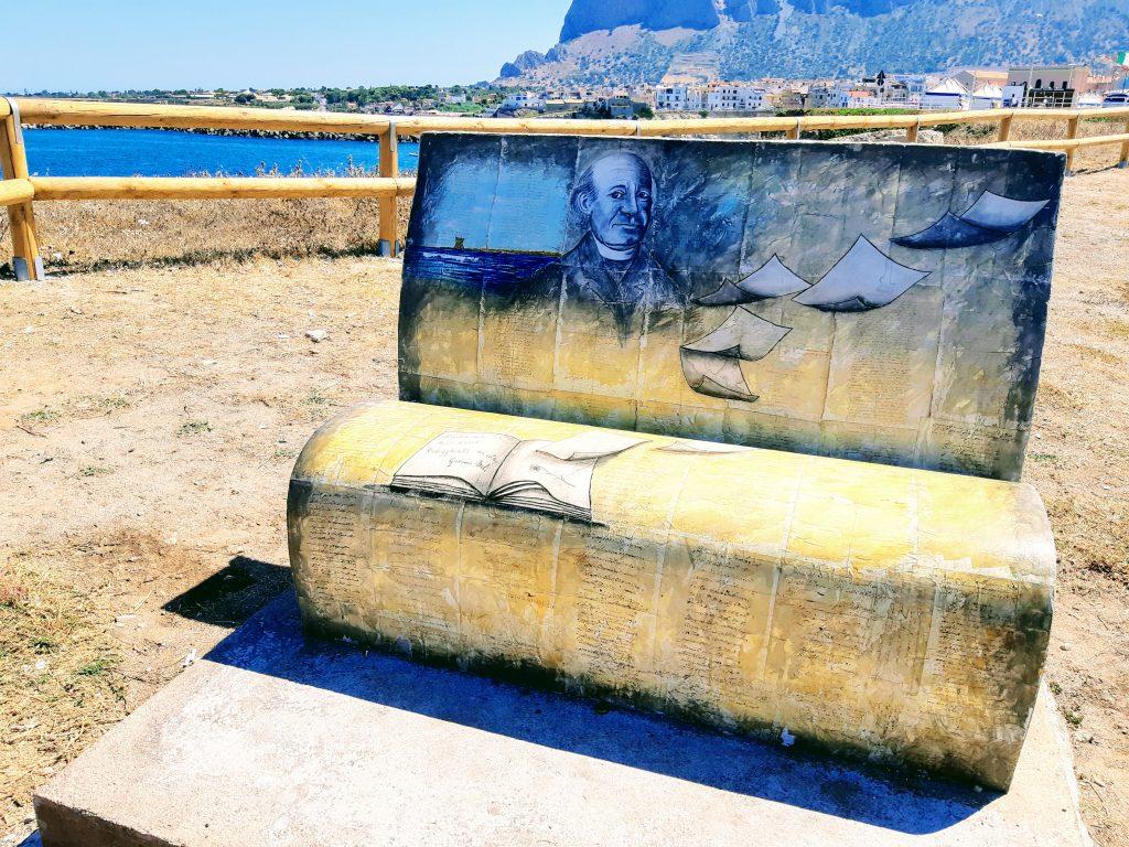 Terrasini: panchina dedicata a Giovanni Meli
