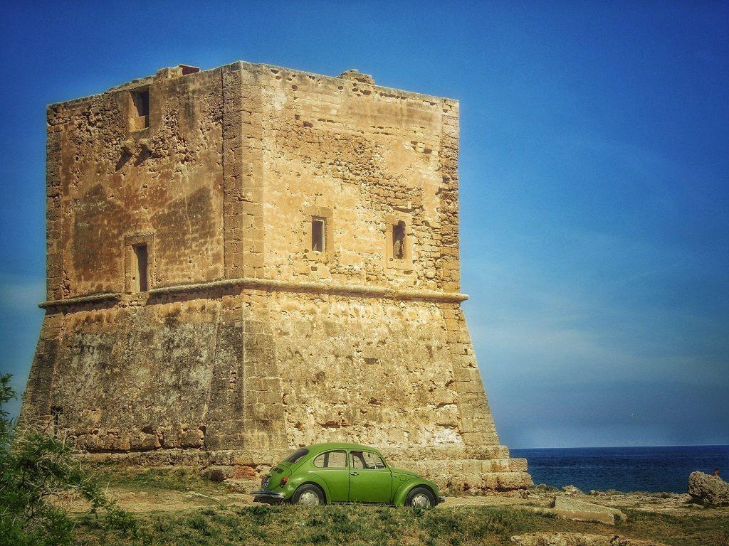 torri costiere: Torre Pozzillo a Cinisi