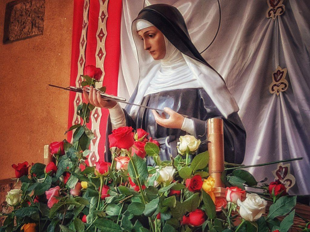 Palermo delle devozioni: Santa Rita e le sue rose