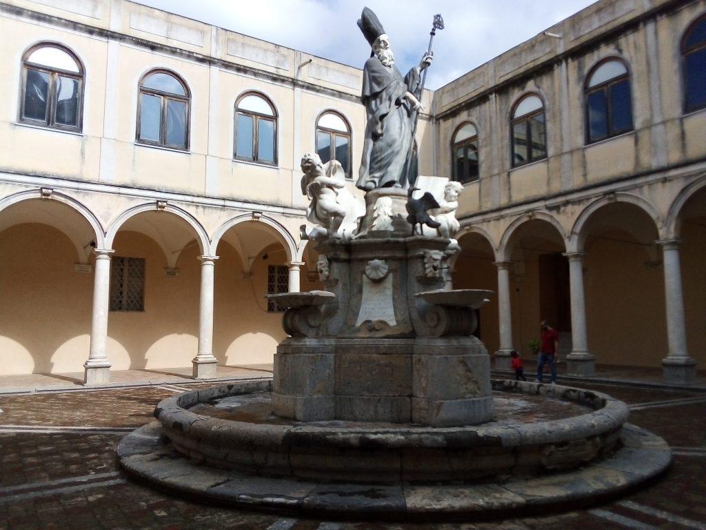 Chiostro di Benedetto presso l'Abbazia di San Martino delle Scale - Ph.Eleonora Di Trapani Le Vie dei Tesori 2019: quattro settimane per riscoprire Palermo