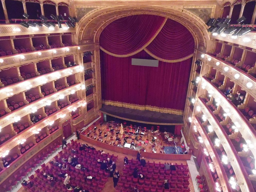 Interior Of Teatro Massimo