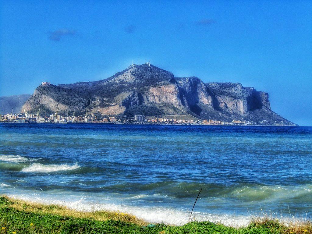 Monte Pellegrino visto da Romagnolo