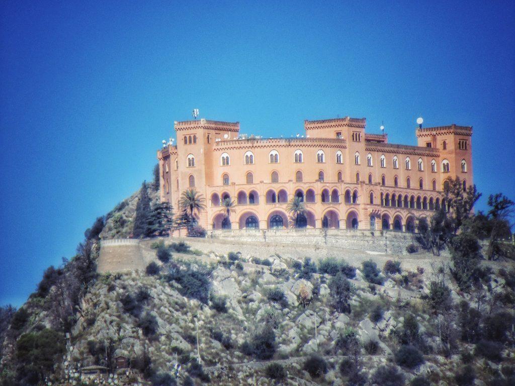 Castello Utveggio su Monte Pellegrino
