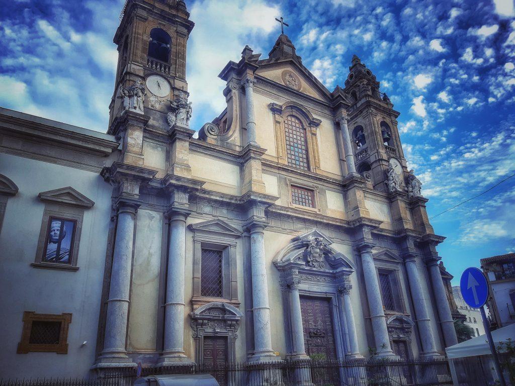 Grigio di Billiemi nella Chiesa di Sant'Ignazio all'Olivella
