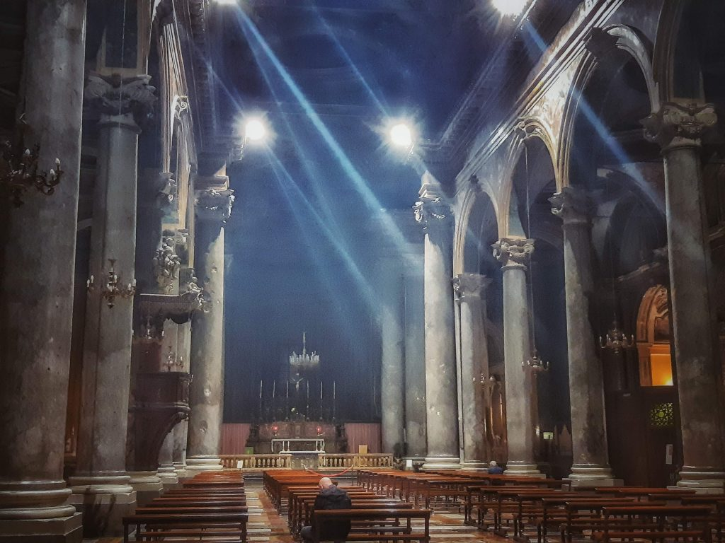 Grigio di Billiemi: la maestosità di San Giuseppe dei Teatini ph © Patrizia Grotta