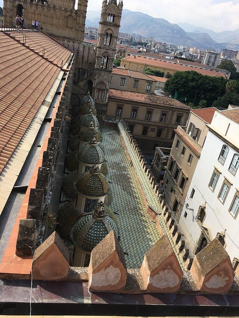 768px Cattedrale Palermo Tetti 07