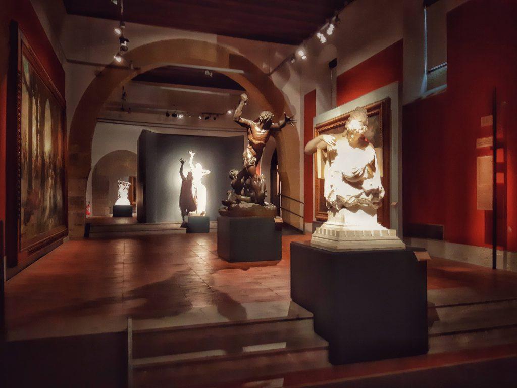Galleria d'Arte moderna di Palermo: le prime sale