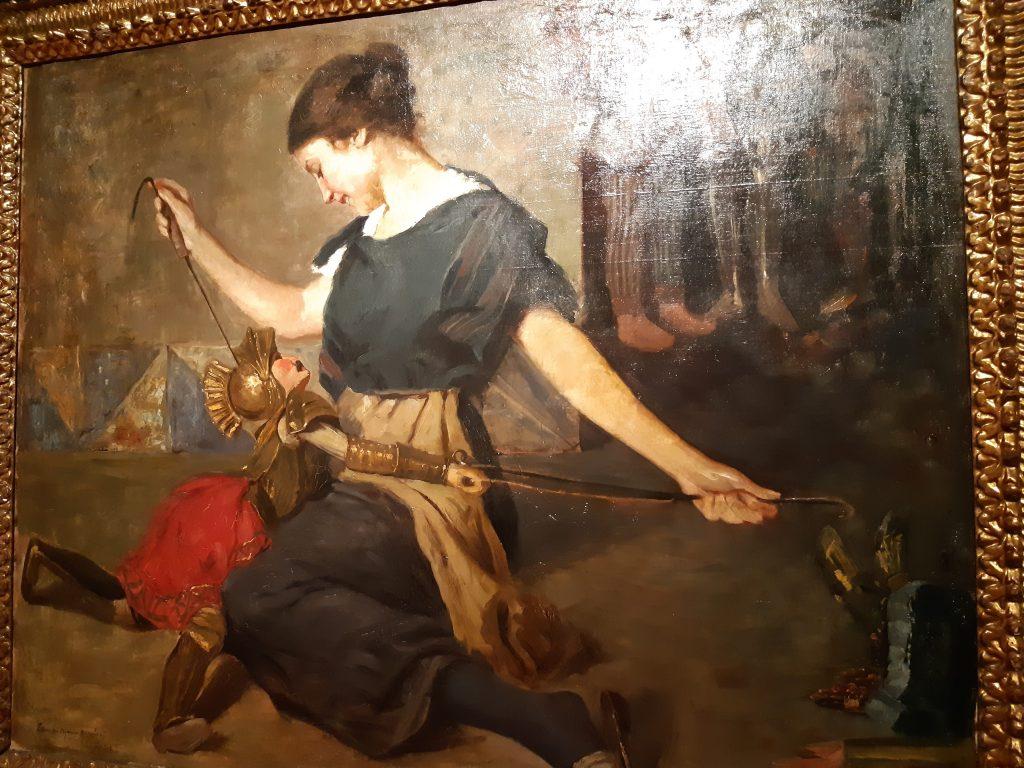 Galleria d'Arte moderna: Rinaldo e Armida di Ettore De Maria Bergler