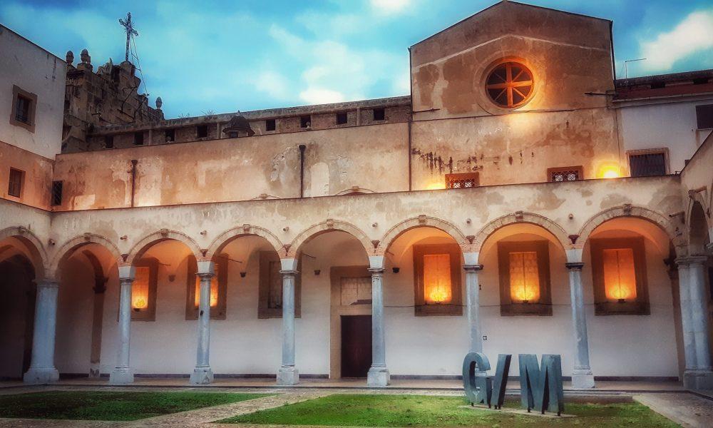 Galleria d'Arte moderna di Palermo: il chiostro