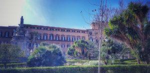 Palazzo dei Normanni visto da villa Bonanno