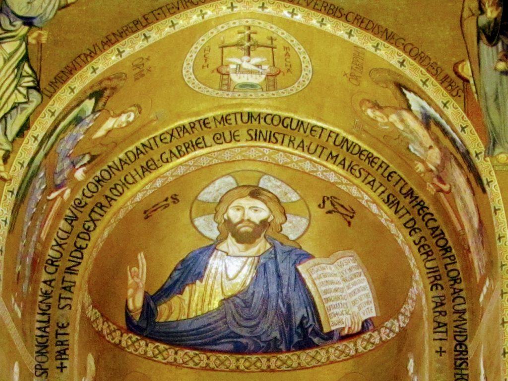 Palazzo dei Normanni: Cristo Pantocratore nella Cappella Palatina
