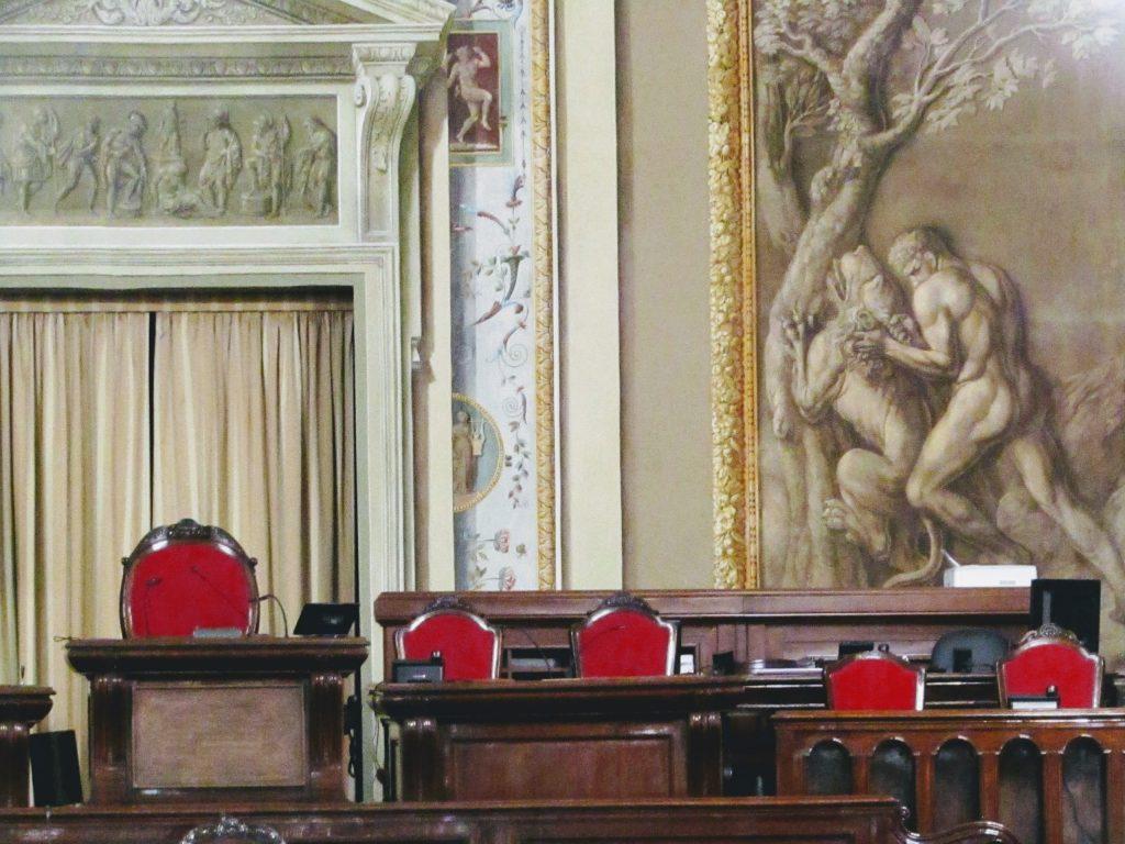 Palazzo dei Normanni: sala d'Ercole