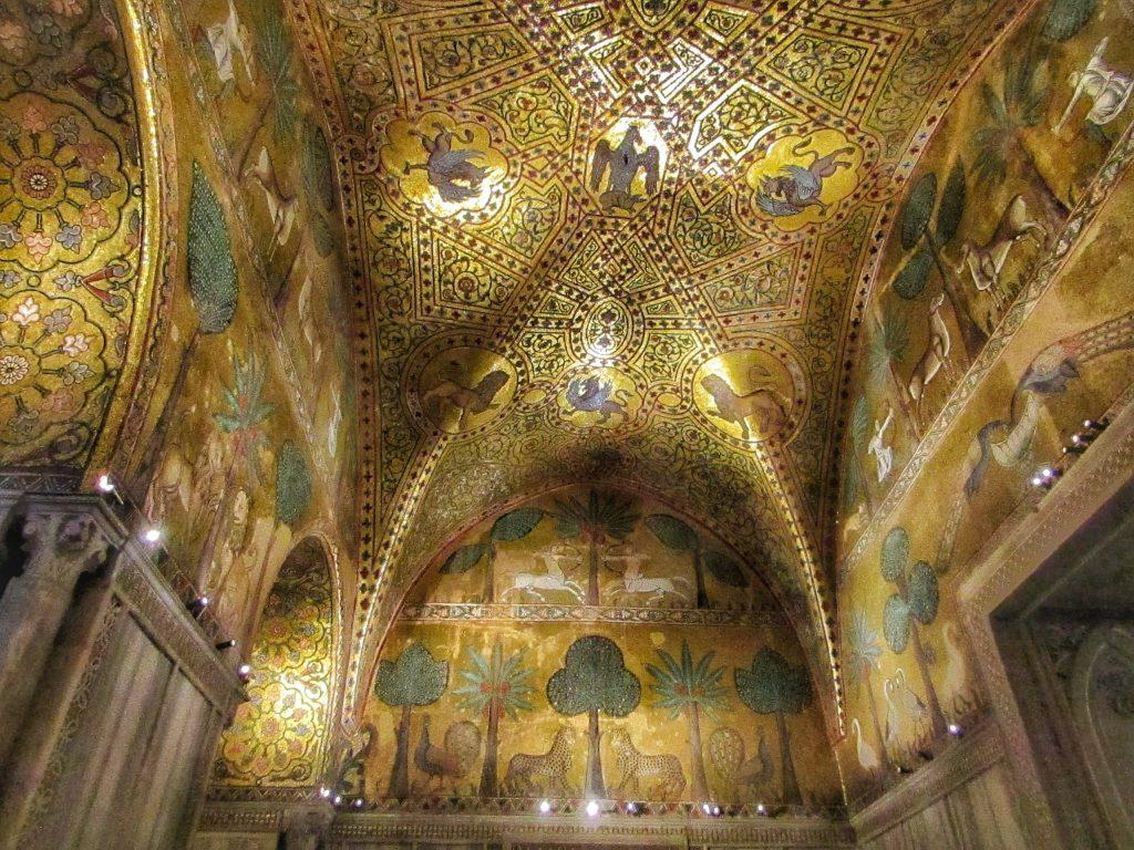 Palazzo dei Normanni: sala di Ruggero